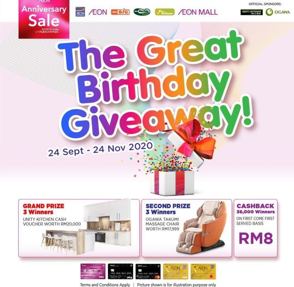 The Great Birthday Giveaway!